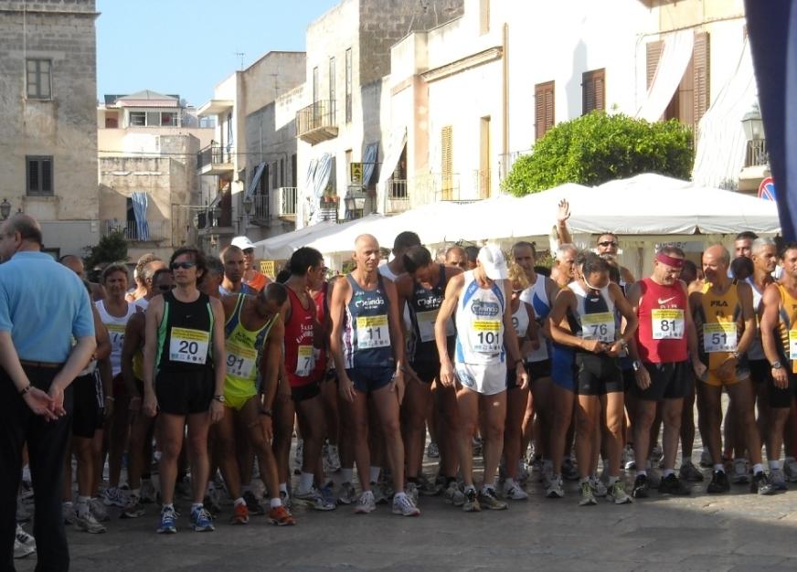 Giro Podistico di Favignana 2011