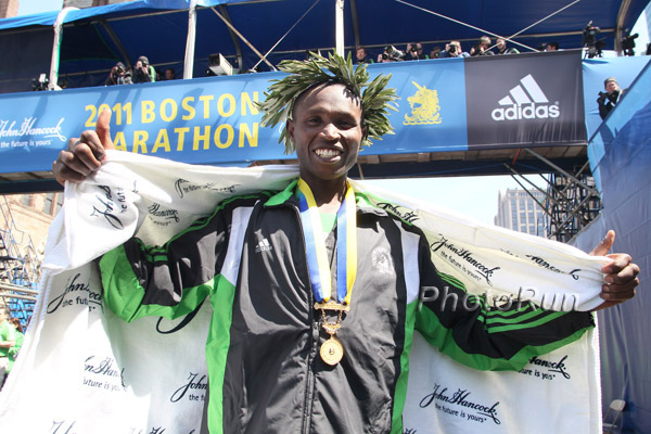 Geoffrey Mutai: il re di Boston a Castelbuono