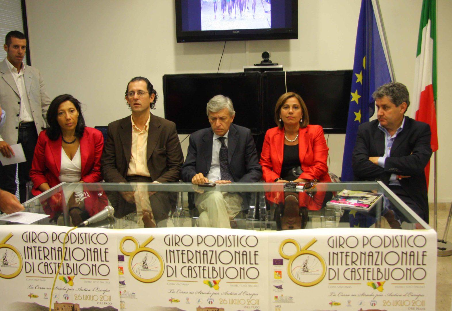 Presentato il Giro Podistico di Castelbuono