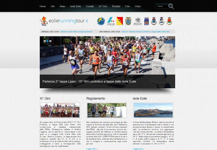 """""""Giro Podistico a Tappe delle Isole Eolie"""" sempre più internazionale"""