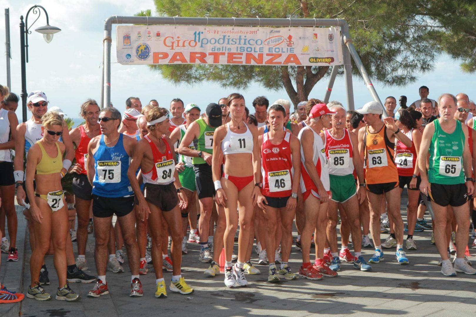 """Annarita Sidoti madrina del """"Giro Podistico a Tappe dell'Isole Eolie"""""""