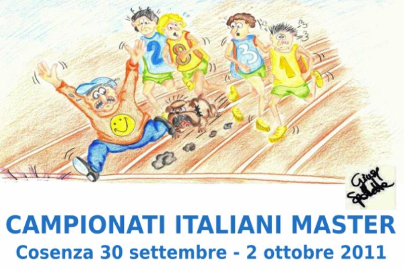 Cosenza ospita i Campionati Italiani Individuali Master 2011