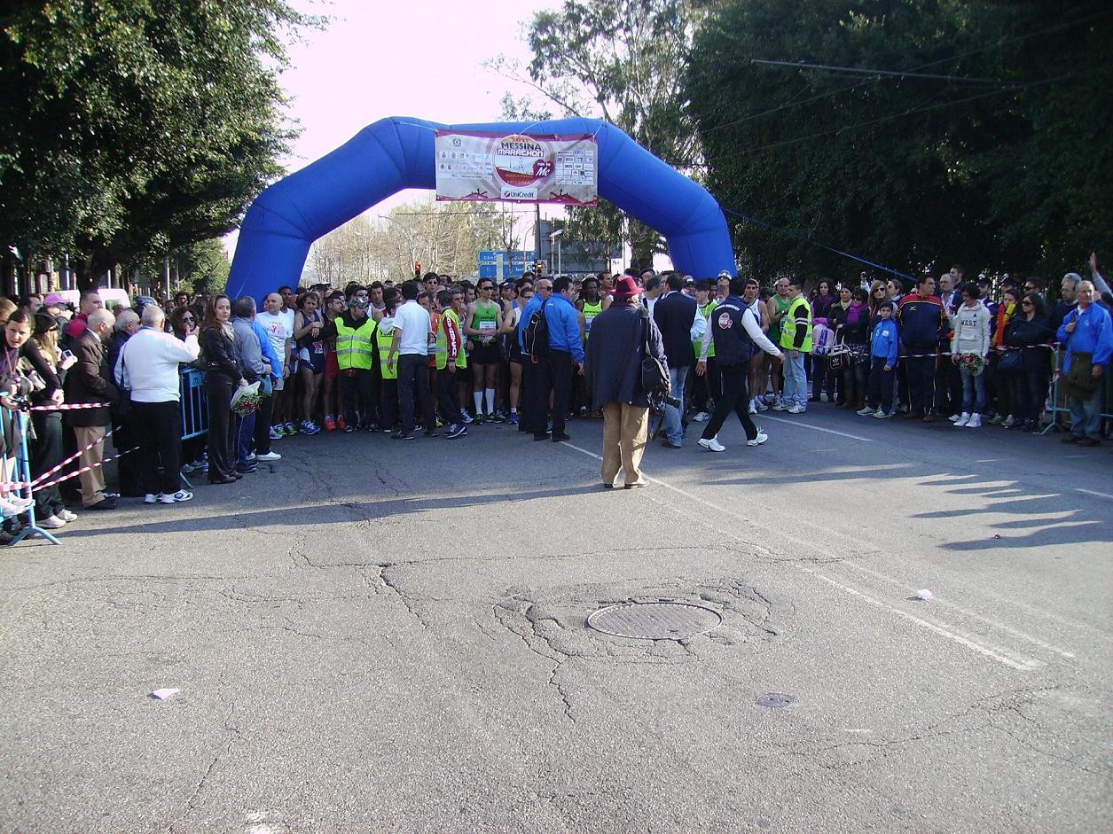 Il 29 aprile 2012 la quinta Maratona di Messina