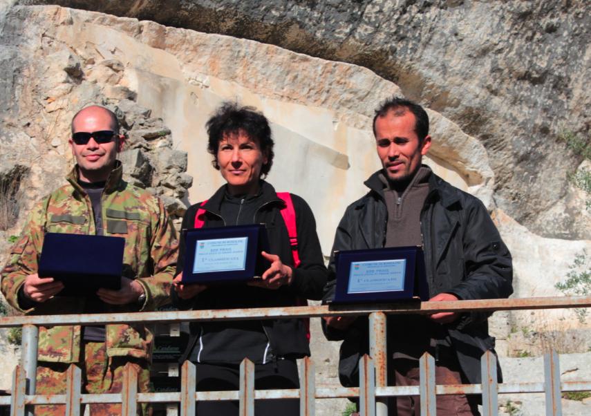 Boumalik e Betta trionfano all'Ecotrail della Cava di Croce Santa