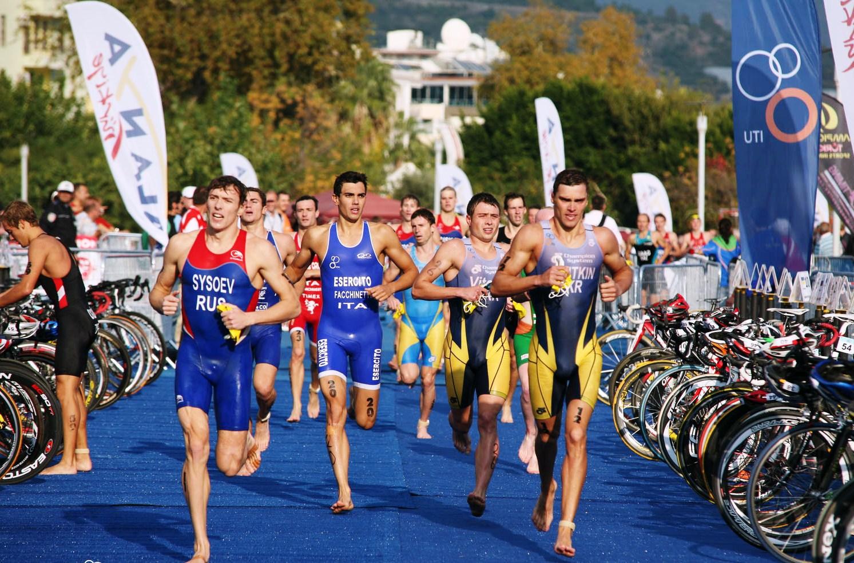 La Nazionale di Triathlon in raduno a Trapani