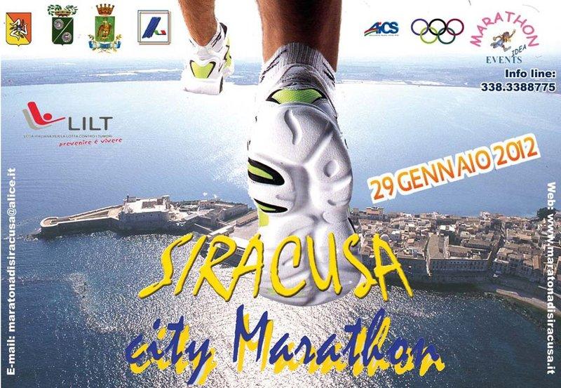 Tredici società messinesi al via della Maratona di Siracusa