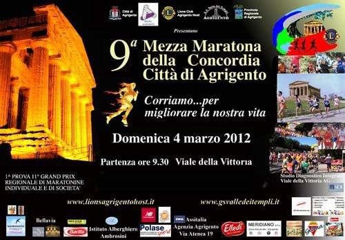 """Scatta a Agrigento il """"Grand Prix di Maratonine 2012"""""""
