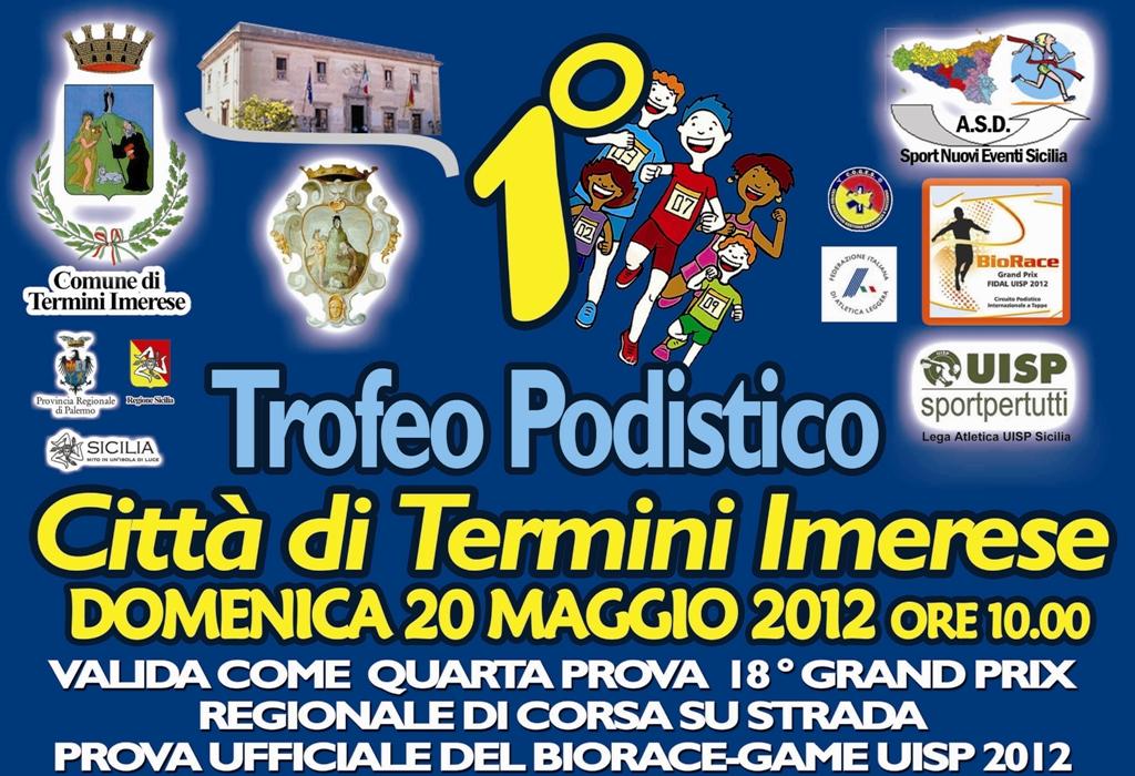"""Buona partecipazione al """"1° Trofeo Città di Termini Imerese"""""""