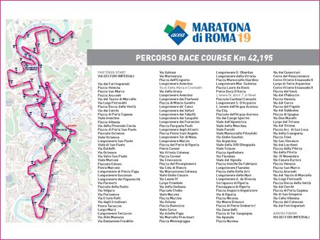 La Maratona di Roma si corre domenica mattina