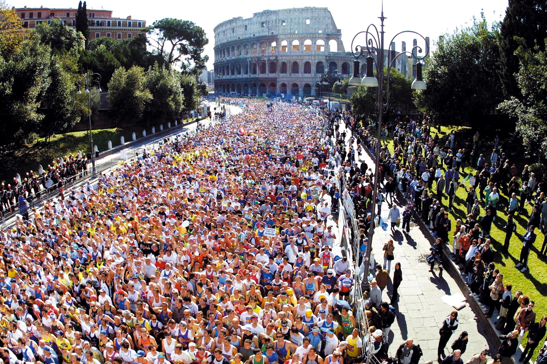 Confermato il 17 marzo per la maratona di Roma