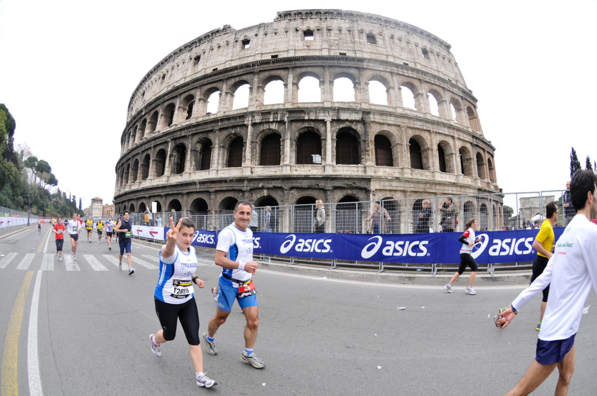 Le statistiche della Maratona di Roma