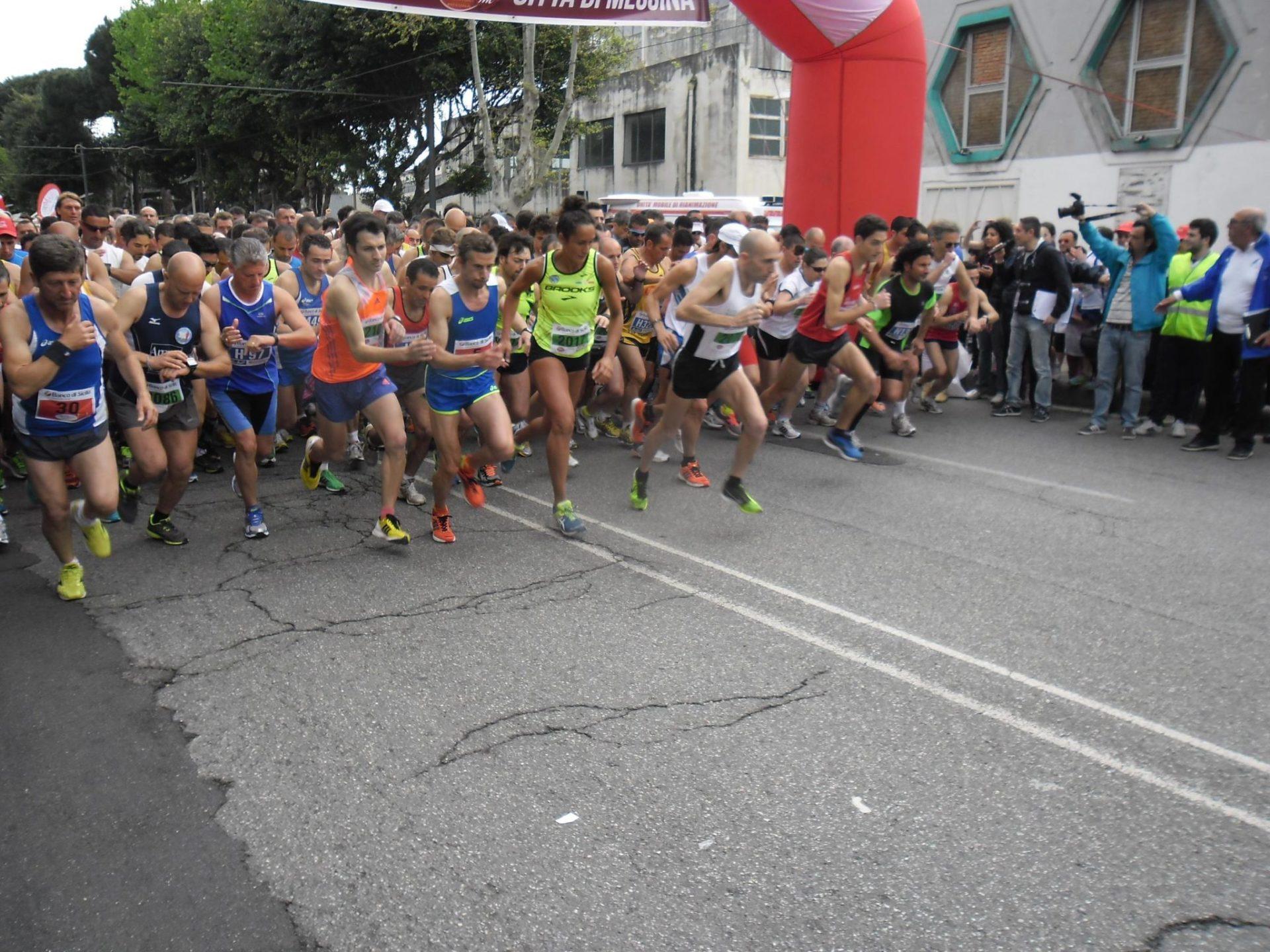 """La """"Messina Marathon"""" su Raisport 1"""