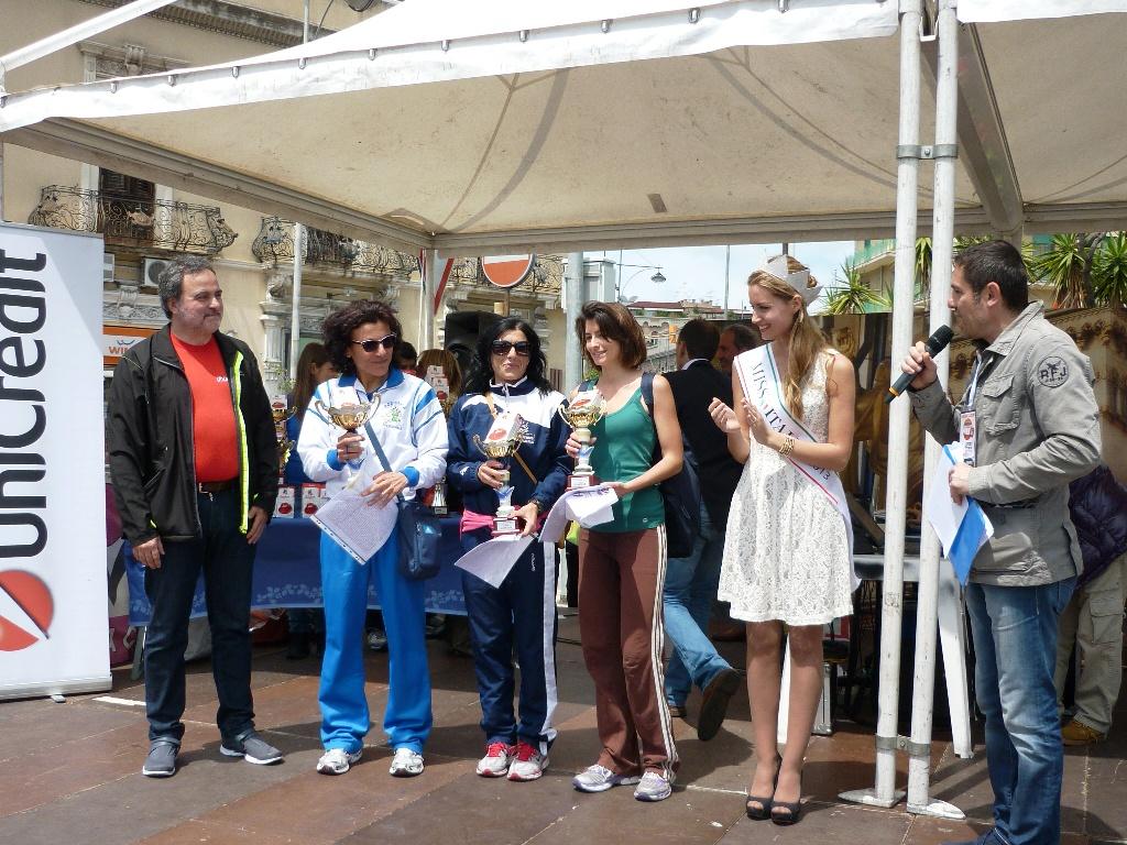 """Tutti i primi di categoria della """"VII Messina Marathon"""""""