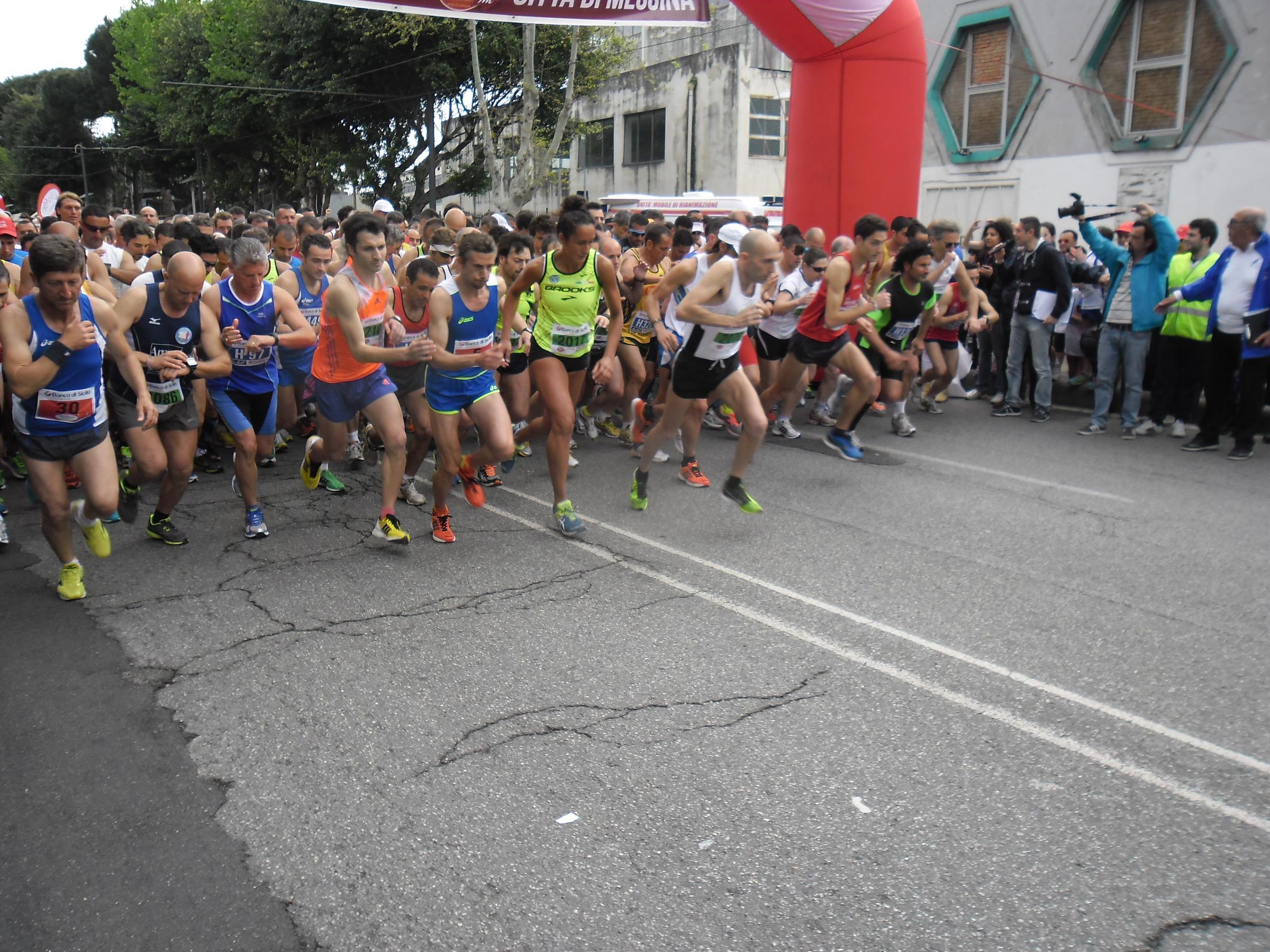 """Cresce l'attesa per la settima """"Messina Marathon"""""""