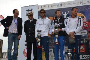 Il podio maschile nel 2013