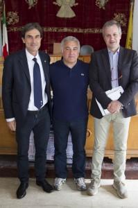 Presentazione Trecastagni Star - Genny La Delfa, Pippo Leone e Fabio Pagliara