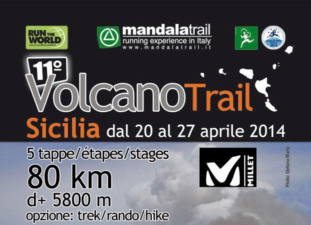 """Tutto pronto per la 10^ edizione del """"Millet Sicily Volcano Trail"""""""