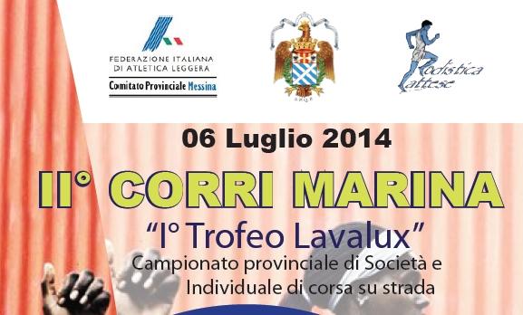 """Campionato provinciale e solidarietà alla """"II Corri Marina"""""""