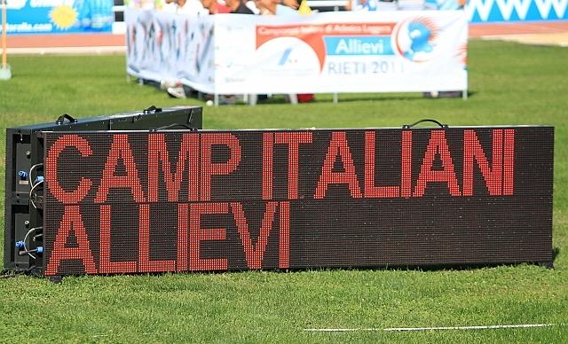 Tricolori Allievi: due messinesi in pista a Rieti