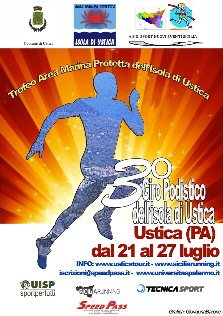 Giro Podistico a Tappe di Ustica patrimonio siciliano da custodire