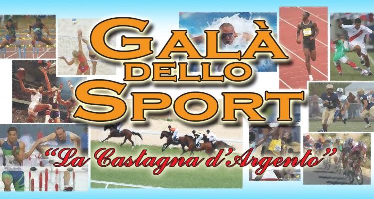"""Galà dello Sport con """"La Castagna d'Argento"""""""