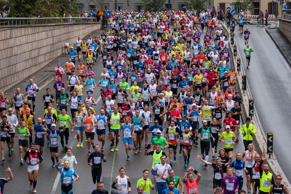 """Tutti i numeri fatti segnare dalla """"Firenze Marathon 2014"""""""