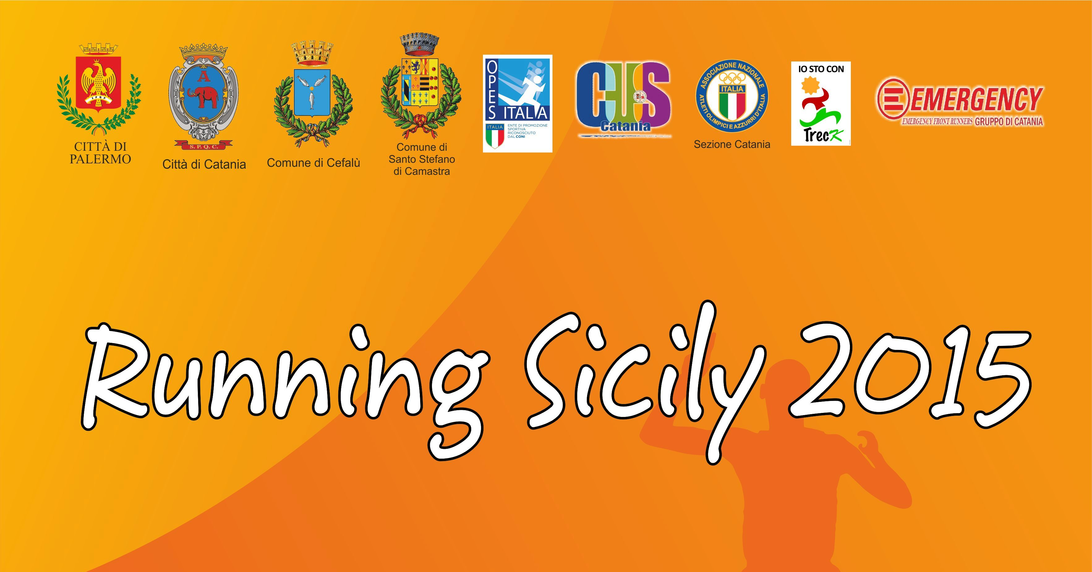 """Al via da Catania la """"Running Sicily 2015"""""""