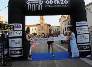 Oderzo 2014_Lalli vince la gara internazionale