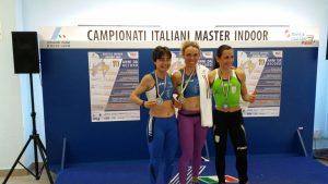 Podio Maria Ruggeri e Marta Roccamo velocità