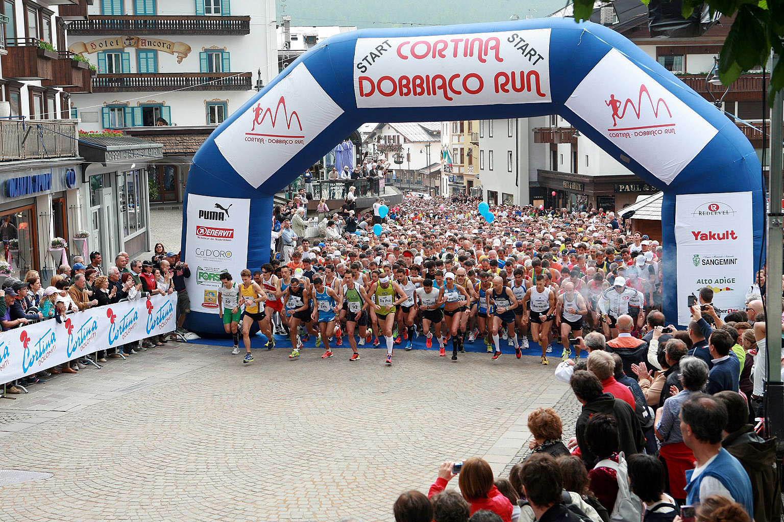 """Tutto pronto per la sedicesima """"Cortina-Dobbiaco Run"""""""