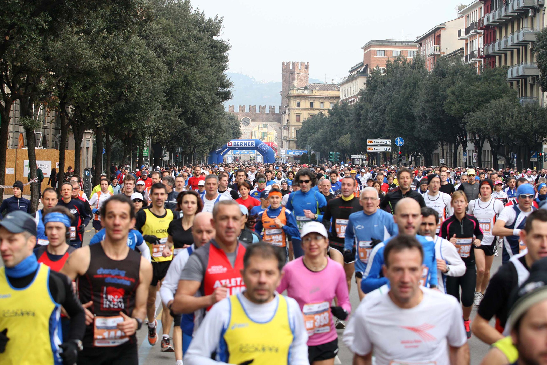 """Nuovo percorso per la """"14^ Verona Marathon"""""""