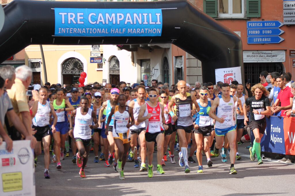 "Mamu e Maina trionfano alla ""Tre Campanili Half Marathon"""