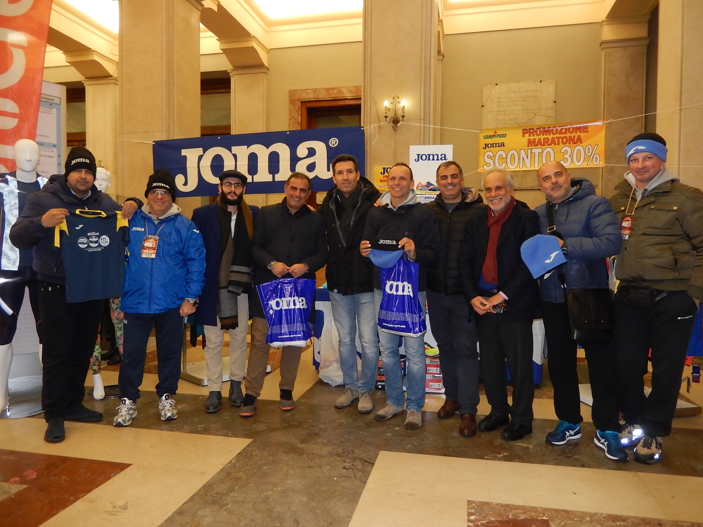 """Righini alla Messina Marathon: """"Il brand Joma anche nel running"""""""