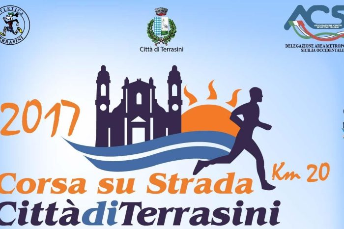 """In calendario il 7 maggio la 20 km """"Città di Terrasini"""""""