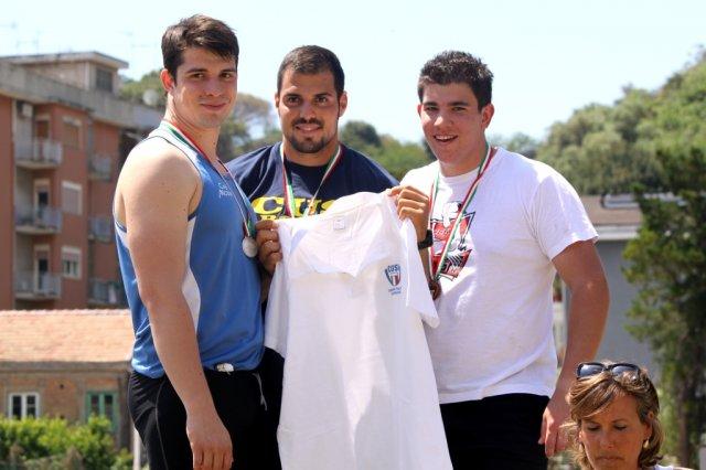 CNU: tutte le medaglie del primo giorno di gare