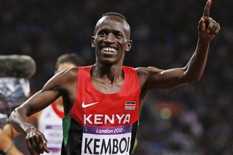A Castelbuono l'oro olimpico Ezekiel Kemboi