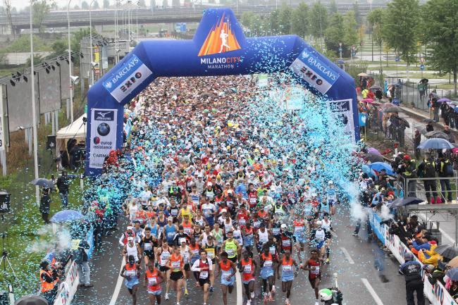 Domenica riflettori sulla Milano City Marathon