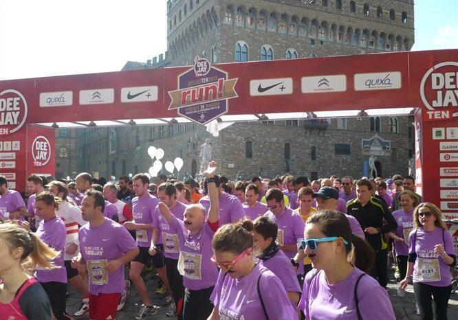 In 10.000 a Firenze: successo per la DeeJay Ten