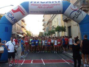 Partenza gara Acquedolci
