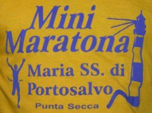 minimaratona Maria SS. di Portosalvo Punta Secca