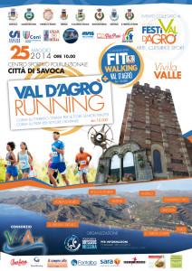 Locandina Val d'Agro Running