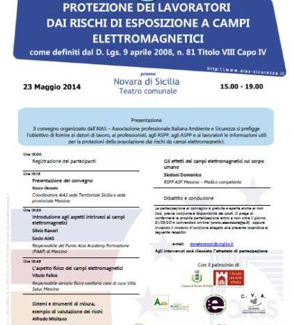 Venerdì convegno sulla Protezione dei lavoratori dai rischi di esposizione a campi elettromagnetici