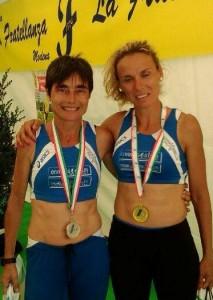 Maria Ruggeri con Marta Roccamo