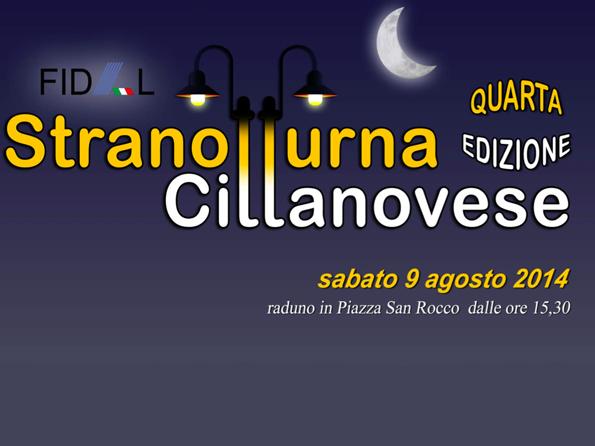 """Partito il conto alla rovescia per la """"Stranotturna Cittanovese"""""""