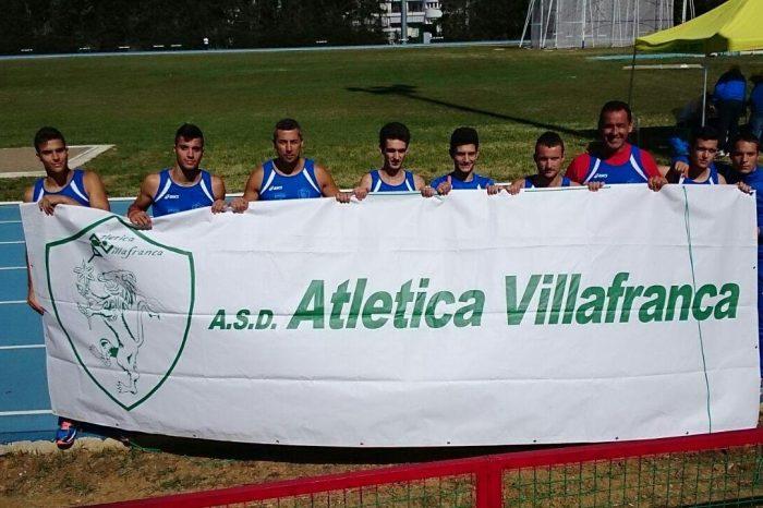 Applausi per l'Atletica Villafranca ai Campionati Assoluti di Società