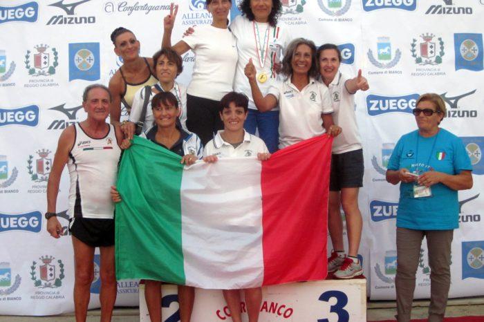 Katia Gianò e Tatiana Betta conquistano l'oro a Bianco