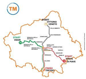 Trevisomarathon2013_Cartina_tre_percorsi