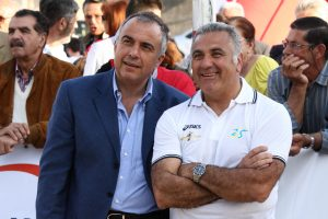 Enzo Parrinello e Pippo Leone