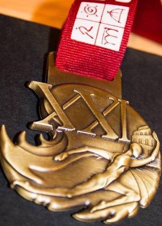 """Ecco la medaglia della """"21^ Maratona di Roma"""""""