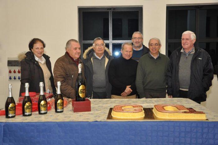 Festa in grande stile per i 60 anni dell'Indomita Torregrotta